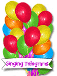 Singing Telegrams balloon image