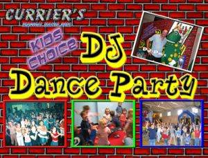 Currier's DJ Dance Party ad